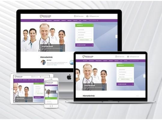 Doktor / Klinik Web Sitesi Paketi Medic v3.0